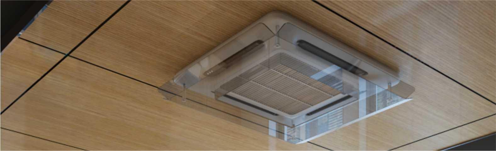 kaset tipi klima aparatı, Split klima aparatı, klima hava yönlendirici aparat, split klima hava yönlendirici, klimalık split klima aparatı, klima hava yönlendirici, AC Deflector, Klima rüzgar önleme,