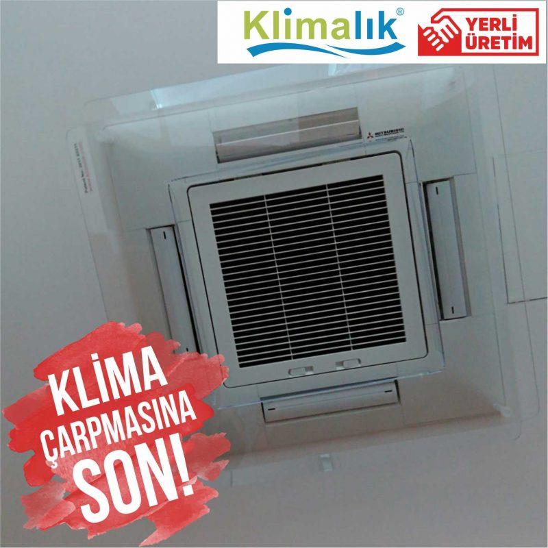 kaset tipi klima aparatı, klima hava yönlendirici aparat, klima önü pleksi, klimalık split klima aparatı, klima hava yönlendirici, AC Deflector, Klima rüzgar önleyici, klima aparatları